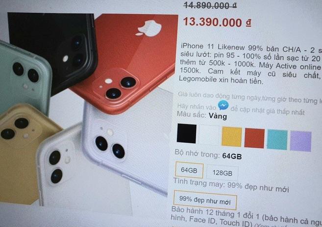 iPhone 11 xách tay giá rẻ tràn về Việt Nam, có nên mua vào thời điểm này?