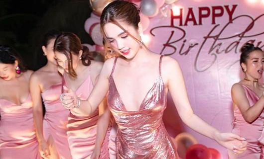 Ngọc Trinh tiết lộ tiệc sinh nhật hồng rực, diện váy ngắn xẻ sâu khoe vũ đạo uyển chuyển hút mắt