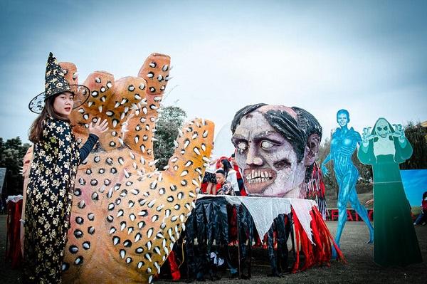 Halloween năm nay đi chơi đâu ở Hà Nội?