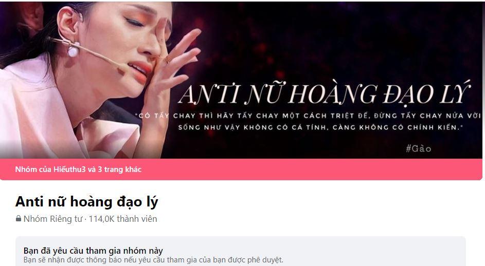 Xuất hiện group hơn 100.000 anti-fan trên Facebook: Hương Giang có được khởi kiện?