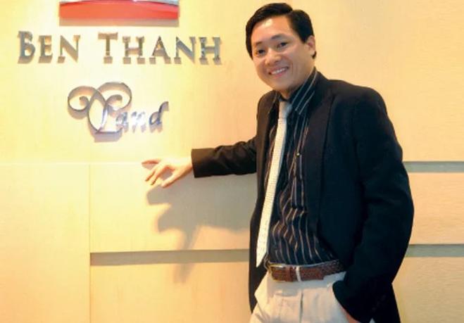 Doanh nhân Nguyễn Cao Trí đang