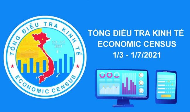 Tiến hành tổng điều tra kinh tế năm 2021 từ ngày 1/3