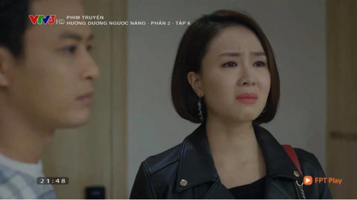 Hướng Dương Ngược Nắng tập 36: Bố con Vỹ âm mưu tung clip nhạy cảm của Châu và đổ tội cho Minh