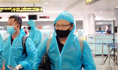 HLV Park Hang-seo yêu cầu ĐT Việt Nam ngừng giao lưu, trả lời phỏng vấn tới khi kết thúc cách ly