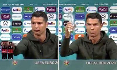 UEFA cảnh báo trừng phạt các cầu thủ tham dự EURO 2020 nếu học theo Ronaldo