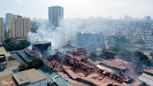HoSE yêu cầu công ty Rạng Đông công bố thiệt hại do hoả hoạn