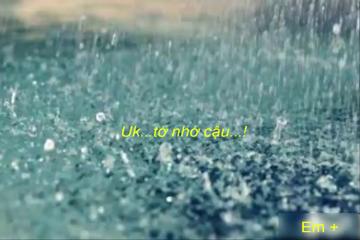 on rainy day